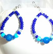 Yemaya Orisha Inspired Earrings